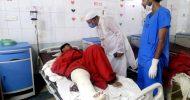 সড়ক দুর্ঘটনায় আহতদের দেখতে ওসমানী হাসপাতালে এমপি মোকাব্বির
