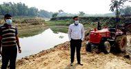 শায়েস্তাগঞ্জে খোয়াই নদীতে অভিযান : ১ লাখ টাকা জরিমানা