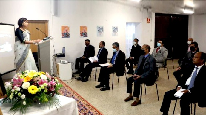 স্পেনে বাংলাদেশ দূতাবাসে আন্তর্জাতিক মাতৃভাষা দিবস উদযাপন