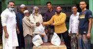 বিশ্বনাথে দুঃস্থদের মাঝে সালেহ আহমদ সাকিব কল্যাণ ট্রাস্টের খাদ্য সামগ্রী বিতরণ