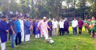 বিয়ানীবাজারে বঙ্গবন্ধু ফুটবল টুর্নামেন্টের উদ্বোধন : তিলপাড়া ও পৌরসভার জয়