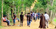 ঈদে কমলগঞ্জের পর্যটন এলাকায় মানুষের ভিড় : স্বাস্থ্যবিধি উপেক্ষিত